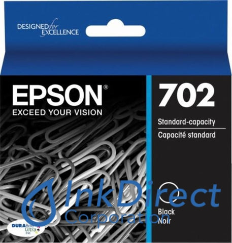 Genuine Epson T702120 Ink Jet Cartridge Black Ink Jet Cartridge
