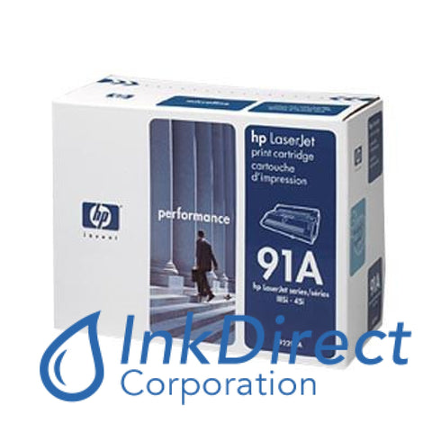 Genuine Hp 92291A Discontinued 91A Toner Cartridge Black