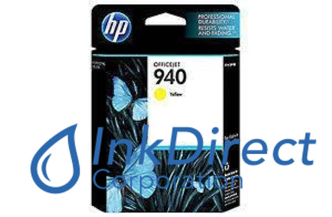 Genuine Hp C4905A C4905An 940 Ink Jet Cartridge Yellow