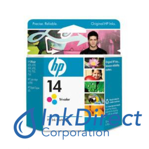 Genuine Hp C5010Dn C5010An 14 Ink Jet Cartridge Color