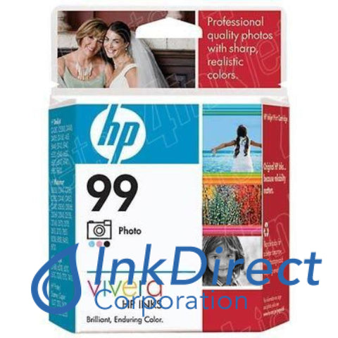 Genuine Hp C9369Wn 99 Ink Jet Cartridge Photo