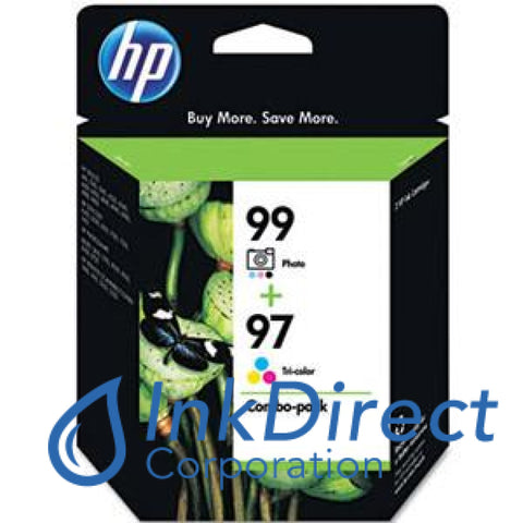 Genuine Hp C9517Fn 97 99 Combo Pack Ink Jet Cartridge Color