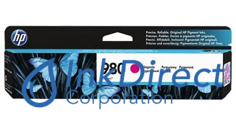 Genuine Hp D8J08A 980 Ink Jet Cartridge Magenta
