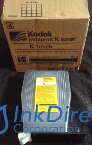 Genuine Kodak 8109043 810-9043 K Toner Black