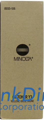 Genuine Konica Minolta 8935106 8935-106 Cf900 Type Y1 Toner Cartridge Yellow