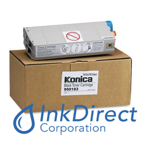 Genuine Konica Minolta 950183 950-183 High Yield Toner Cartridge Black