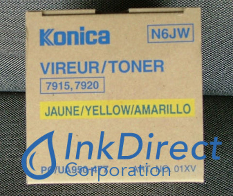 Genuine Konica Minolta 950477 950-477 Toner Cartridge Yellow