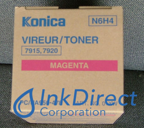 Genuine Konica Minolta 950478 950-478 Toner Cartridge Magenta