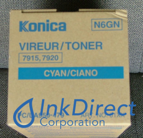 Genuine Konica Minolta 950479 950-479 Toner Cartridge Cyan