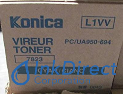 Genuine Konica Minolta 950694 950-694 Toner Cartridge Cyan