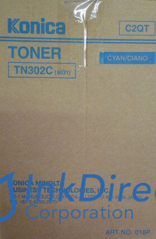 Genuine Konica Minolta 960849 960-849 Tn-302C Tn302C Toner Cartridge Cyan