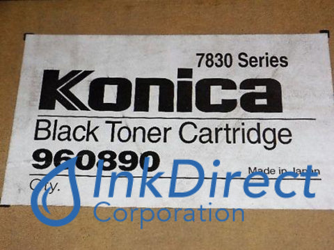 Genuine Konica Minolta 960890 960-890 High Yield Toner Cartridge Black