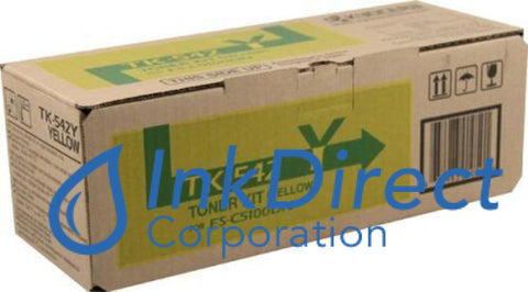 Genuine Kyocera Mita 1T02Hlaus0 Tk-542Y Tk542Y Toner Kit Yellow