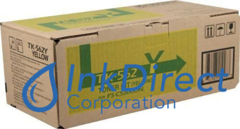 Genuine Kyocera Mita 1T02Hnaus0 Tk-562Y Tk562Y Toner Cartridge Yellow