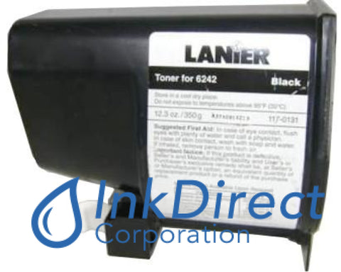 Genuine Lanier 1170131 - L 117-0131 - Toner Cartridge Black , Lanier - Copier 6242