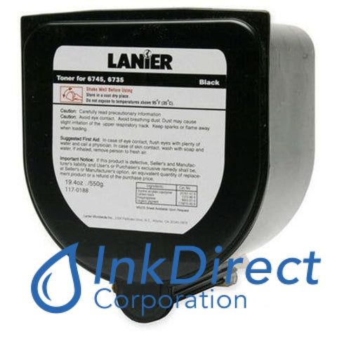 Genuine Lanier 1170188 - L 117-0188 - Toner Cartridge Black , Lanier - Copier-Analog 6735, 6745