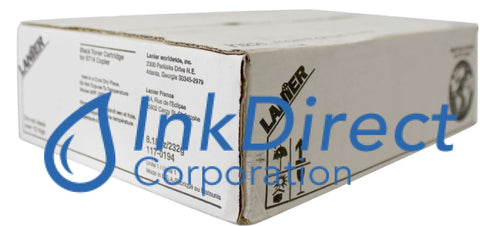 Genuine Lanier 1170194 117-0194 Toner Cartridge Black , Lanier - Copier 6614, 6714, 7214