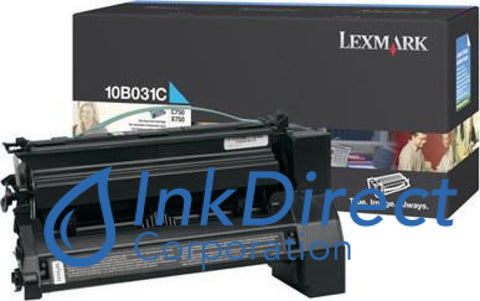 Genuine Lexmark 10B031C Toner Cartridge Cyan