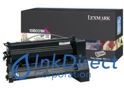 Genuine Lexmark 10B031M Toner Cartridge Magenta