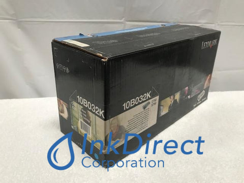 Genuine Lexmark 10B032K Print Cartridge Black C750 X750C Print Cartridge
