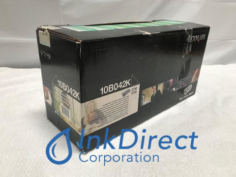 Genuine Lexmark 10B042K Return Program Print Cartridge Black C750 C750FN C750IN C750N X750E Print Cartridge