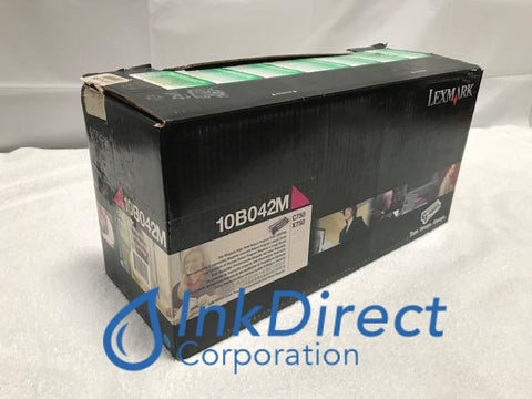 Genuine Lexmark 10B042M Return Program Print Cartridge Magenta C750 C750FN C750IN X750E Print Cartridge
