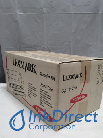 Genuine Lexmark 10E0045 Transfer Kit Black Optra C710 Transfer Kit , Lexmark - Laser Printer Optra C710,