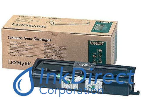 Genuine Lexmark 11A4097 Toner Cartridge Black