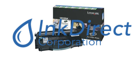 Genuine Lexmark 12015Sa 12035Sa Return Program Toner Cartridge Black