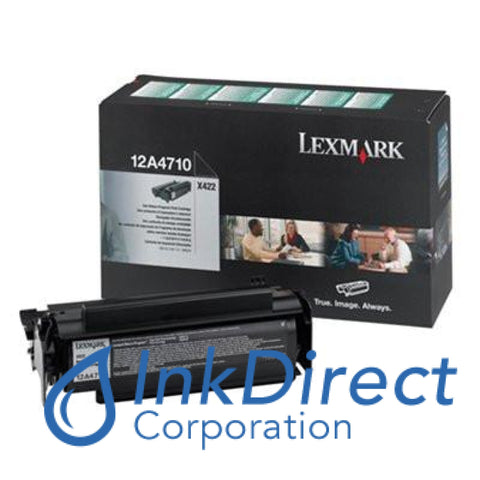Genuine Lexmark 12A4710 Return Program Print Cartridge Black