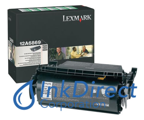 Genuine Lexmark 12A6869 Return Program Print Cartridge Black