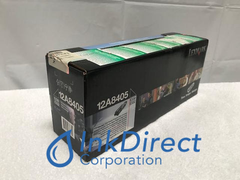 Genuine Lexmark 12A8405 Return Program Toner Cartridge Black E330 E332 E332N E332TN E340 E342N Toner Cartridge