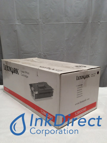Genuine Lexmark 12B0090 Print Cartridge Black Optra W820 W820N X820E MFP Print Cartridge , Lexmark - Laser Printer Optra W820, W820N, X820E MFP,
