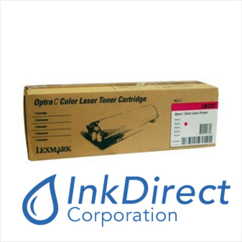 Genuine Lexmark 1361212 Toner Cartridge Magenta