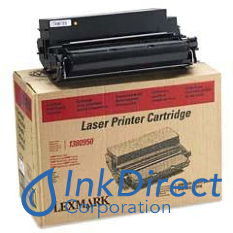 Genuine Lexmark 1380950 Toner Cartridge Black