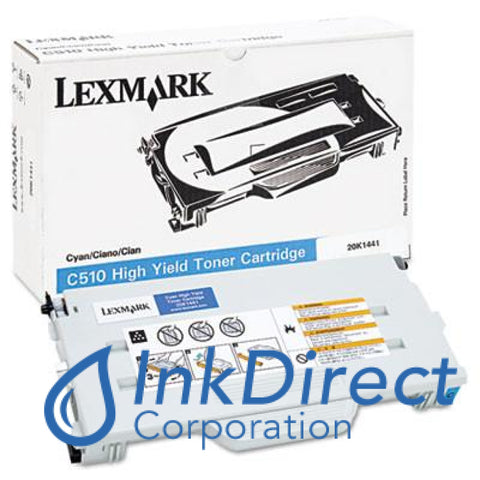 Genuine Lexmark 20K1441 C510 Toner Cartridge Cyan