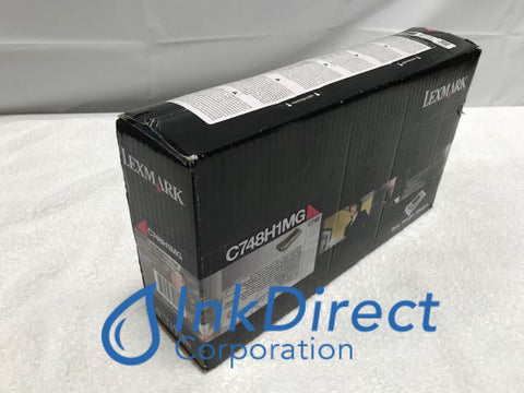 Genuine Lexmark C748H1MG Return Program Toner Cartridge Magenta C748DE C748DTE C748E Toner Cartridge