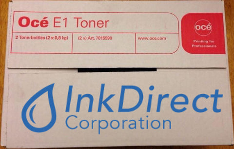 Genuine Oce 1070015900 7015598 25001865 E1 / E-1 Toner Black