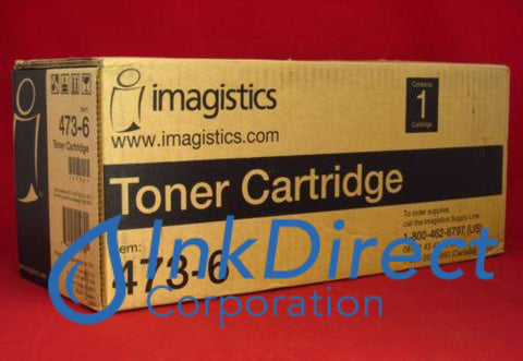 Genuine Oce-Pitney Bowes-Imagistic 4736 473-6 Toner Cartridge Black