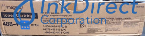 Genuine Oce-Pitney Bowes-Imagistic 4884 488-4 Toner Cartridge Cyan