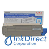Genuine Okidata 43865719 Toner Cartridge Cyan