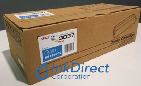 Genuine Okidata 52115002 Type C5 ( Oki Executive Series ) Toner Cartridge Cyan ES 3037 3037DXN 3037E Toner Cartridge