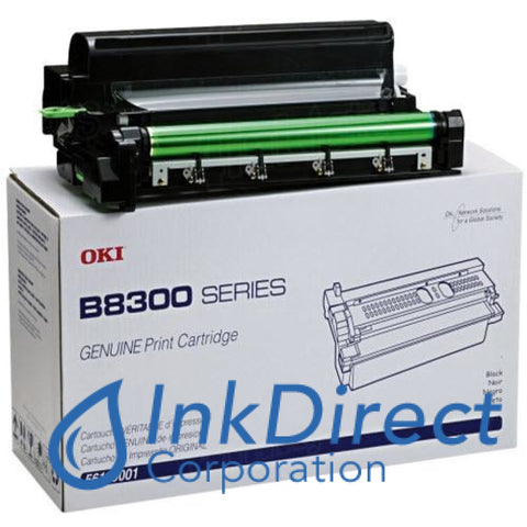 Genuine Okidata 56115001 Print Cartridge Black , Okidata - Laser Printer B 8300N
