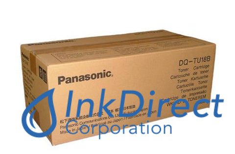 Genuine Panasonic Dqtu18B Dq-Tu18B Toner Cartridge Black , Panasonic - Color Laser DP 2000, 2500, 2500E, 2500P, 3000E