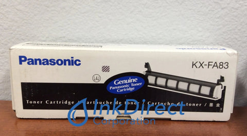 Genuine Panasonic KXFA83 KX-FA83 Toner Cartridge Black KXFL511 KXFL541 Toner Cartridge