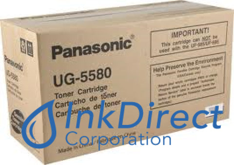 Genuine Panasonic Ug5580 Ug-5580 Toner Cartridge Black