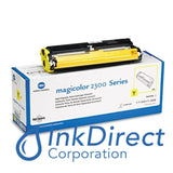Genuine QMS 1710517006 1710517-006 MagiColor 2300 High Yield Toner Yellow Toner