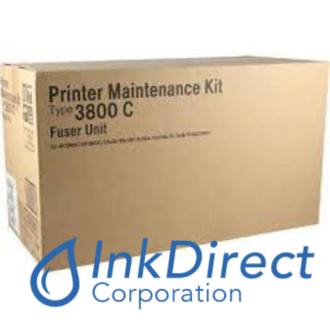 Genuine Ricoh 400596 Type 3800C Fuser Kit Black Fuser Kit