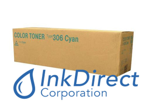 Genuine Ricoh 400686 400339 Type 306 Toner Cartridge Cyan
