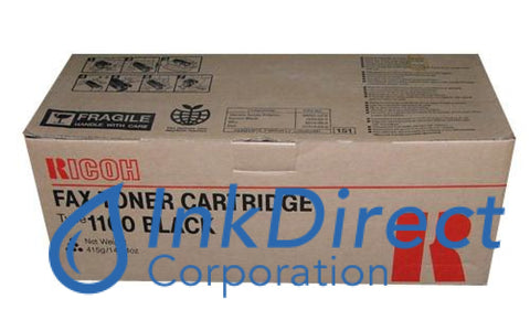 Genuine Ricoh 430347 Type 1160 Toner Cartridge Black
